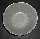Five Dynasties Yue Bowl Foliated Rim