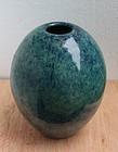 Chinese Yixing zisha Blue Mottled  Glaze Jar With Mark