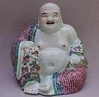 Chinese Late 19th - early 20th Century Figure of Budai
