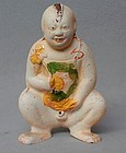 Chinese 16th - 17th Century Sancai Doll
