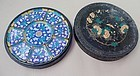 Chinese Painted Enamel Serving Set Dishes, Qing Period