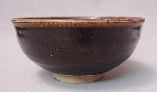 12th-14th Century Brown Glazed Bowl