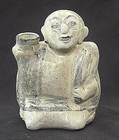 A Rare Sawankhalok Figure