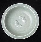 Twin Fish Celadon Dish,Song-yuan dynasty