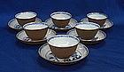 A Set of Six Nanking Cargo Cup & Saucer