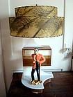 EAMES ERA LAMP/MID-CENTURY MODERN MAN IN TUXEDO