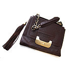 DIANE VON FURSTENBERG AUTHENTIC PURSE/OSTRICH