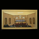 Helen LaFrance Painting, Church Choir