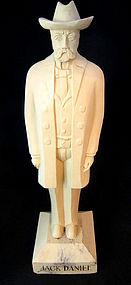 Vintage Jack Daniels Carving, Advertising Display
