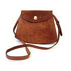 Vintage Ferragamo Suede Handbag