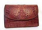 Genuine Crocodile Skin Wallet