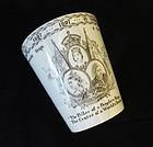 1897 Mintons Diamond Jubilee Queen Victoria Beaker
