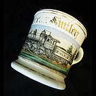 Occupational Shaving Mug, Train