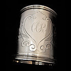 Gorham Coin Silver Cup