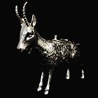 Silver Goat Creamer