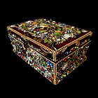 Iris G Jewelry Box, Rubies and Frogs