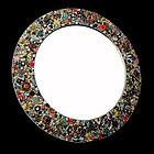 Iris G Huge Round Mirror