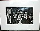 Philin Phlash 1982 B/W Original Photograph Print Joan Collins