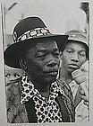 B/W Original Photograph Print John Lee Hooker, Blues Giant