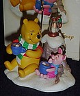 Hallmark Cocoa for two Piglet and Pooh ornament MIB