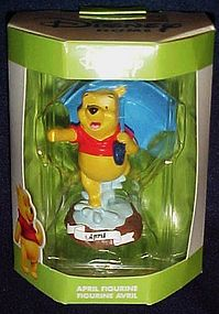 Disney Home collectible Winnie the Pooh April figurine