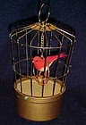 Vintage Saezuri transistorized singing bird music box