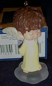 Hallmark angel ornament  Mary's Angels Forsythia
