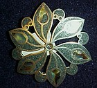 Old Taxco 925  Los Ballesteros abalone pin / pendant