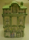 Victorian Post office house building cookie jar