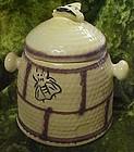 Vintage House of Webster bee hive cookie or treat jar