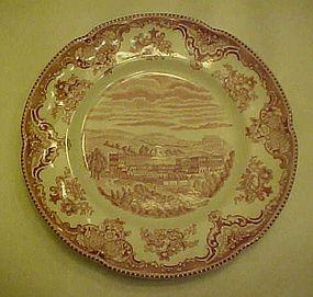 "Johnson Bros.  castles transferware salad plate 8"""