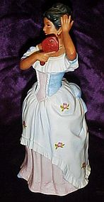 Homco Victorian figurine  black lady Anna Marie  1431
