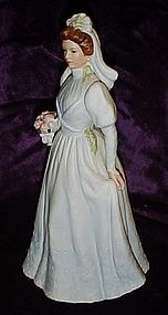 Homco Home Interiors Victorian  Bride figurine 1480