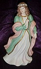 Home Interiors renieassance maiden figurine 1486
