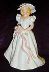 Avon Summer Bride  collectible porcelain figurine 1986