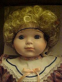 Betty Jane Carter porcelain Becky doll  Musical