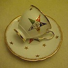 Easter Star Royal Stafford demi cup and saucer set