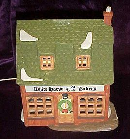 Dept 56 Dickens Village White Horse Bakery MIB