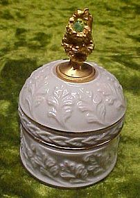 Lenox August birthstone trinket box