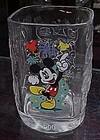 Mickey Mouse McDonalds Millenium square glass