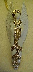Hallmark 2002 Angelic Visitation porcelain angel