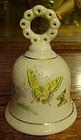 Enesco porcelain butterflies bell