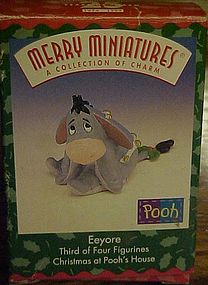 Hallmark Merry Miniatures A collection of charm Eeyore