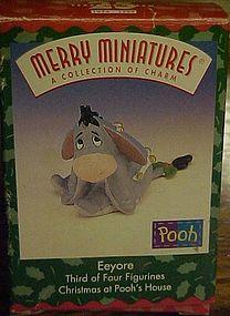 Hallmark Merry Miniatures A collection of charm Eeyore