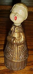 Vintage plastic choir boy Caroler Christmas decoration