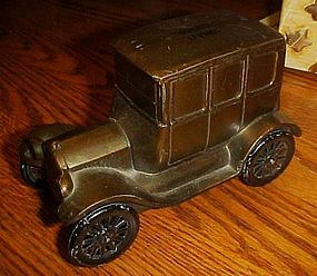 Banthrico 1926 Ford metal bank from Summit Savings