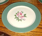 Homer Laughlin Century Green Pie dessert plate 7 1/4""