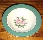 Homer Laughlin Century Green rimmed sauce dessert bowl