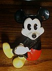 Disney pie eyed Mickey Mouse ceramic figurine