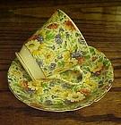 Old James Kent Longton Marigold chintz cup and saucer